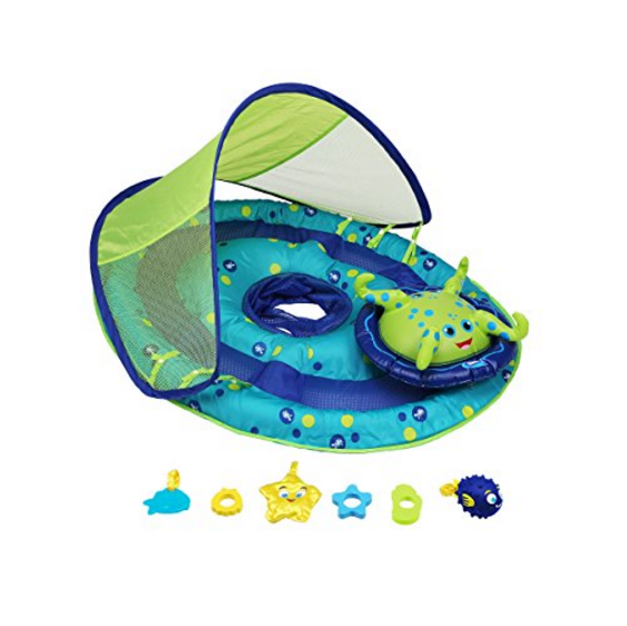 Swimways Baby Spring Swim Float with Canopy
