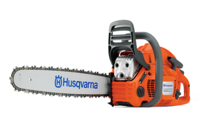Husqvarna 455 Rancher 55-1/2cc  Gas Chain Saw