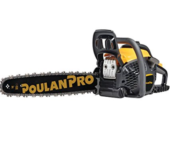 PoulanPro 50cc Gas Powered Chain Saw