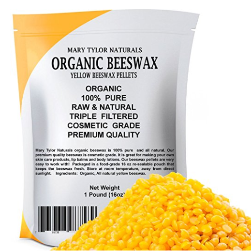 Mary Tylor Naturals Yellow Beeswax Pellets