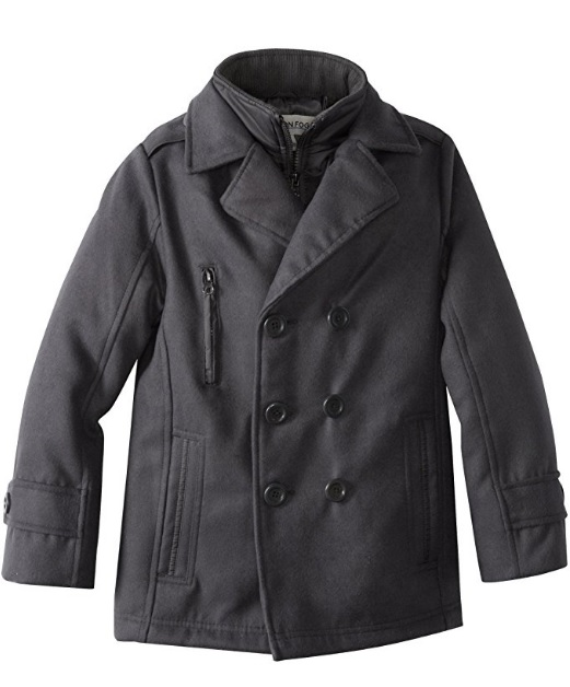 London Fog Boys Peacoat