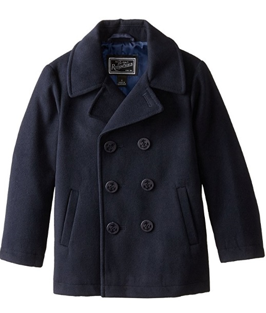 Rothschild Double Breasted Pea Coat