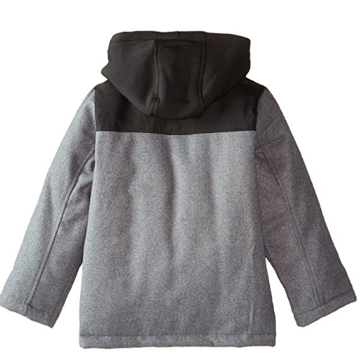 iXtreme Wool Coat with Fleece Hood