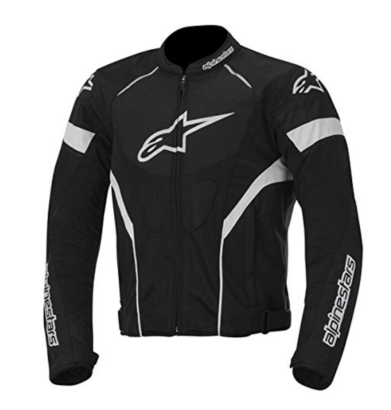 Alpinestars T-GP Plus R Air Jacket in Black and White – Available in 7 Sizes