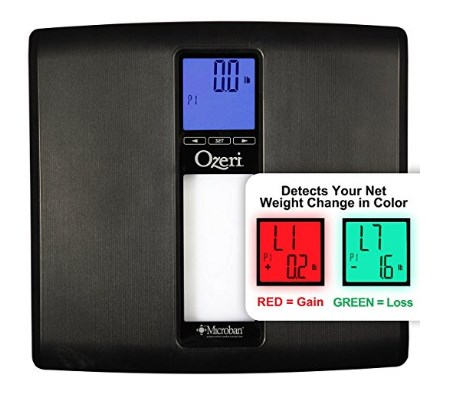 Ozeri WeightMaster II 440 lbs Digital Bath Scale with BMI and Weight Change Detection – Available in White or Black