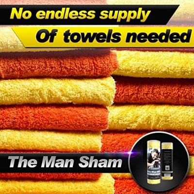 The Man Sham Chamois Cloth Car Drying Towel