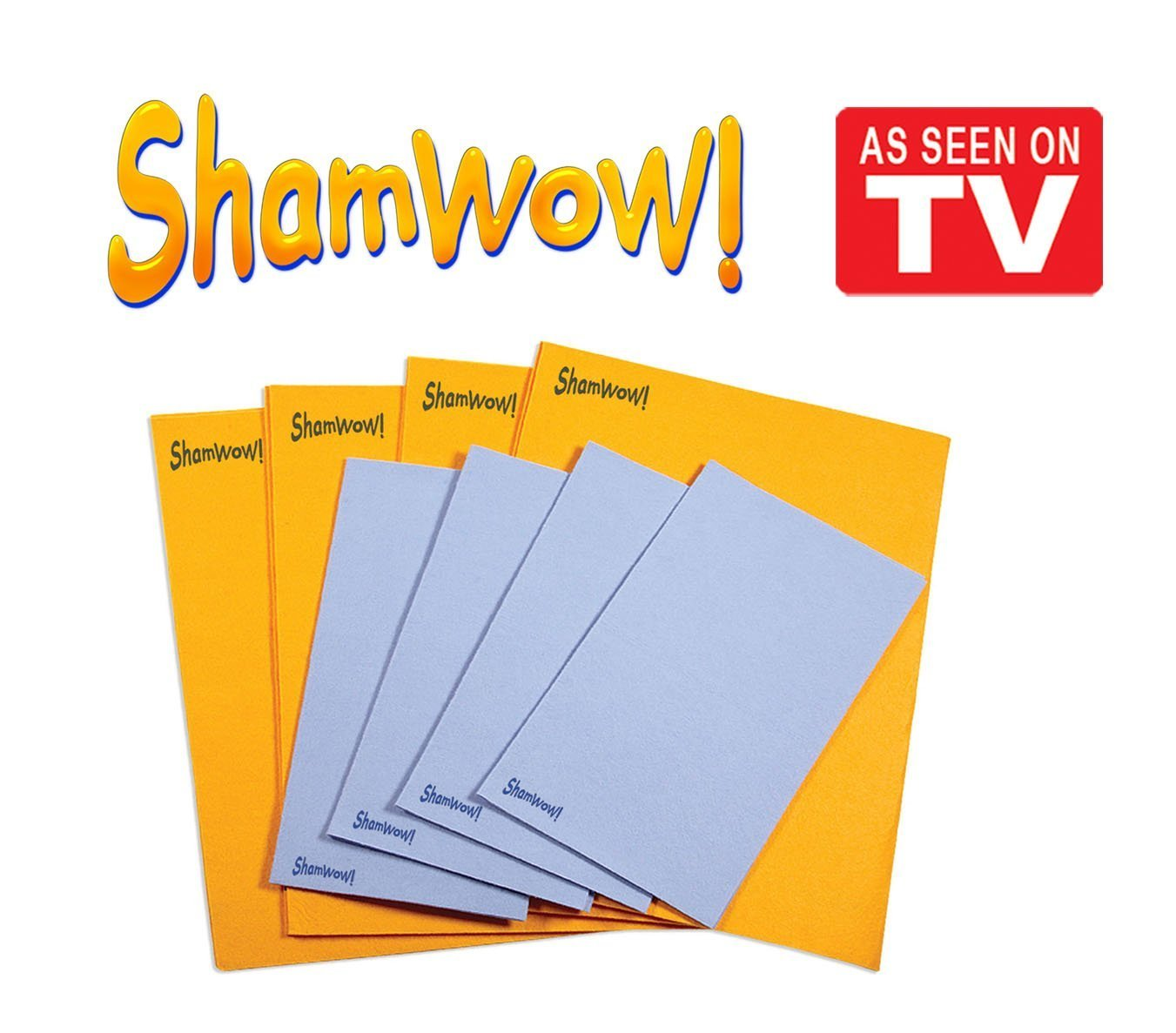 ShamWow Chamois Drying Towel Bundle