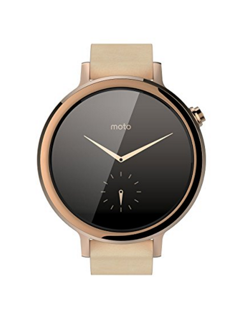 Motorola Moto 360 Android SmartWatch (2nd Generation) – Available in Men's or Women's Styles with 6 Color/Design Choices