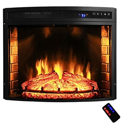AKDY Freestanding Electric Fireplace Insert