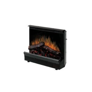 Dimplex Electric Fireplace Deluxe 23-Inch Insert – Installs in Existing Fireplace