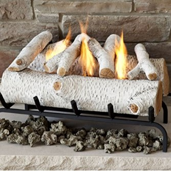 Real Flame Convert-to-Gel Fireplace Log Insert