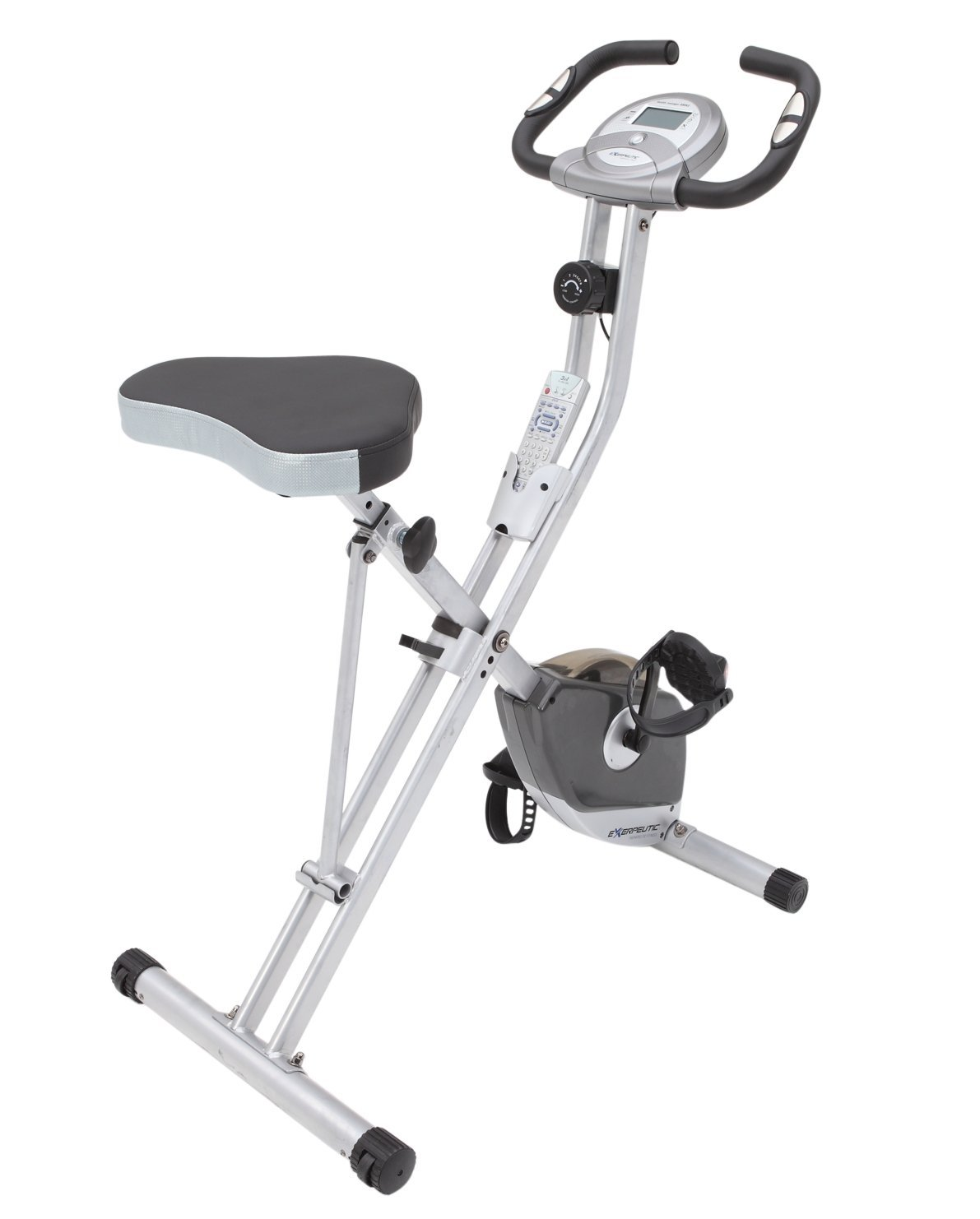 Exerpeutic 250XL Upright Bike with Pulse Grips - Exerpeutic 1200