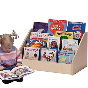 Steffy Wood Products Low Book Display