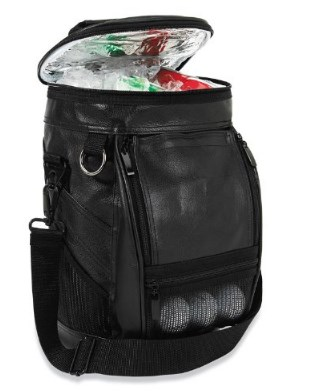 OAGear Caddy Golf Bag Cooler with Adjustable Shoulder Strap -  Pockets for Golf Accessories