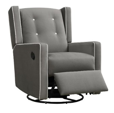 Baby Relax Mikayla Swivel Gliding Recliner – Available in 3 Colors