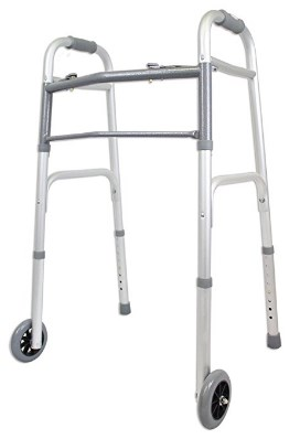 Ez2care Deluxe Folding Walker