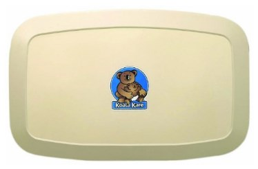 Koala Kare Horizontal Wall Mounted Baby Changing Station – Available in 4 Colors