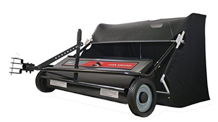 Ohio Steel 42 Inch / 22 Cubic Feet Lawn Sweeper - Sweeper Spiral Brush
