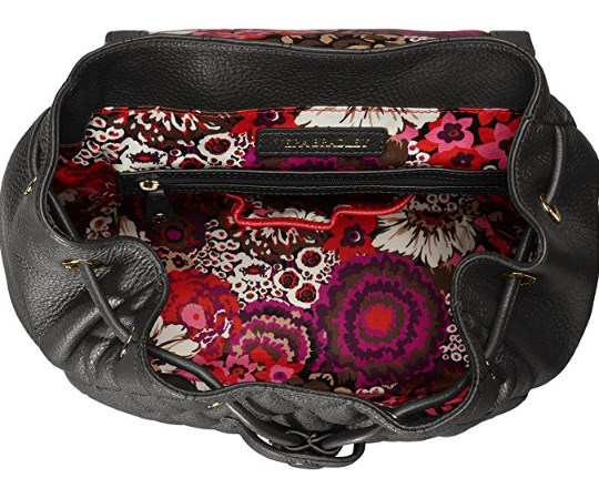 Vera Bradley Leather Amy Backpack