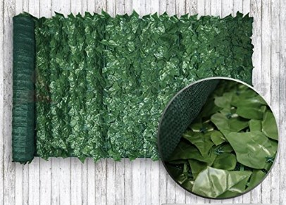 Windscreen4less Faux Ivy Leaf Privacy Fence