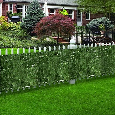 Zeny Artificial Faux Ivy Fence
