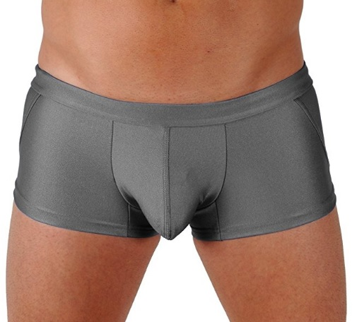 Gary Majdell Sport Olive Classic Competition Style Trunk Boxer Swimsuit