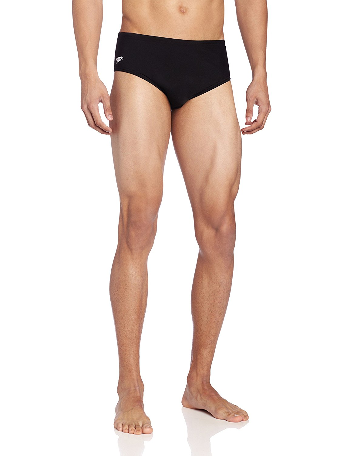 Speedo Men's Endurance+ Solid Brief Swimsuit, Available in 3 Colors and Multiple Sizes