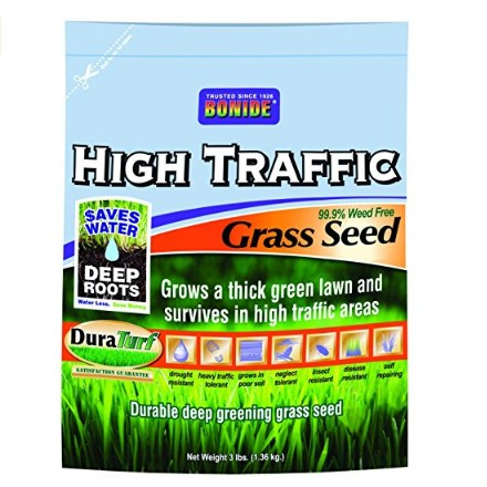 Bonide High Traffic Grass Seed, 3-Pounds