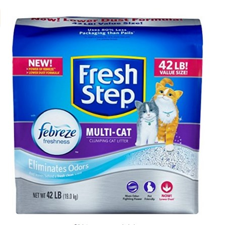 Fresh Step Cat Litter Febreze Cat Litter