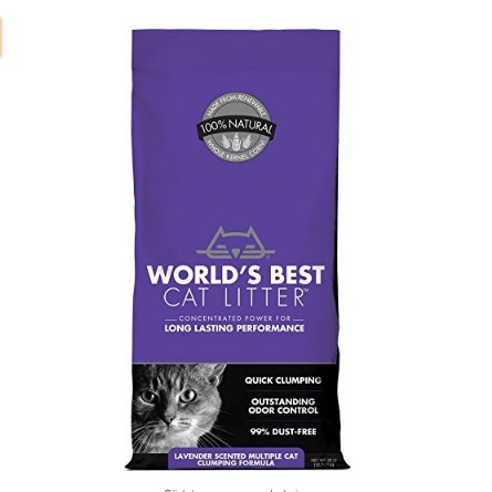 World's Best Cat Litter Clumping Litter