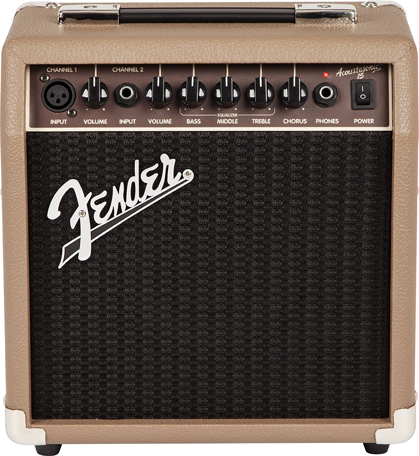 Fender Acoustasonic™ 15 Guitar Amplifier