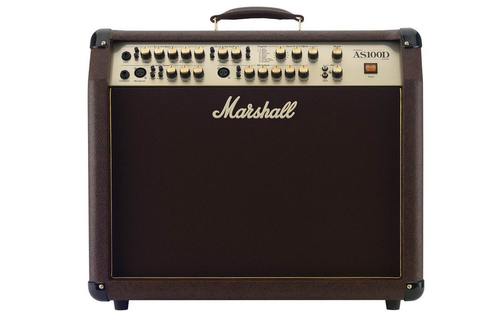 Marshall Amps Acoustic Series 100-Watt 2x8-Inch Guitar Combo Amp with Digital Effects and 4 Channels