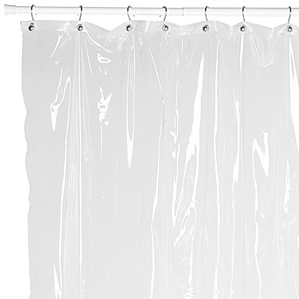 "Carnation Home Fashions ""Ez On"" Shower Curtain"