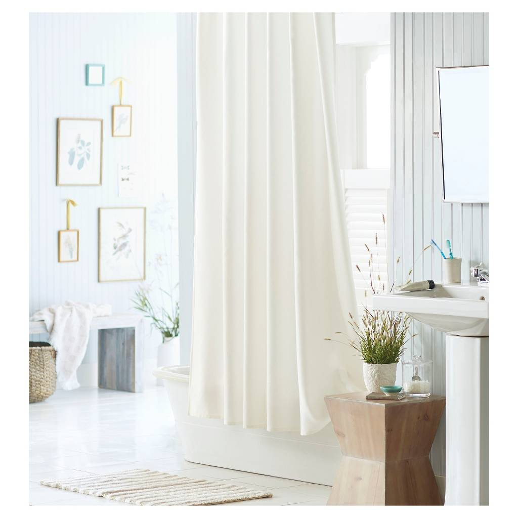 LiBa Clear Shower Curtain
