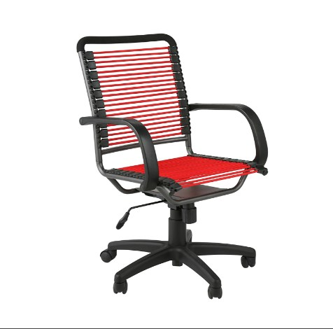 Eurø Style Bungie High Back Office Chair