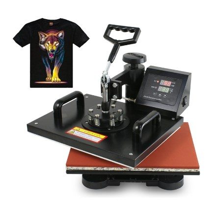 F2C Pro 5 in 1 Digital Heat Press