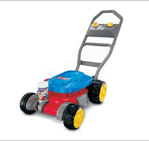 Fisher-Price Bubble Mower with One Touch Refills