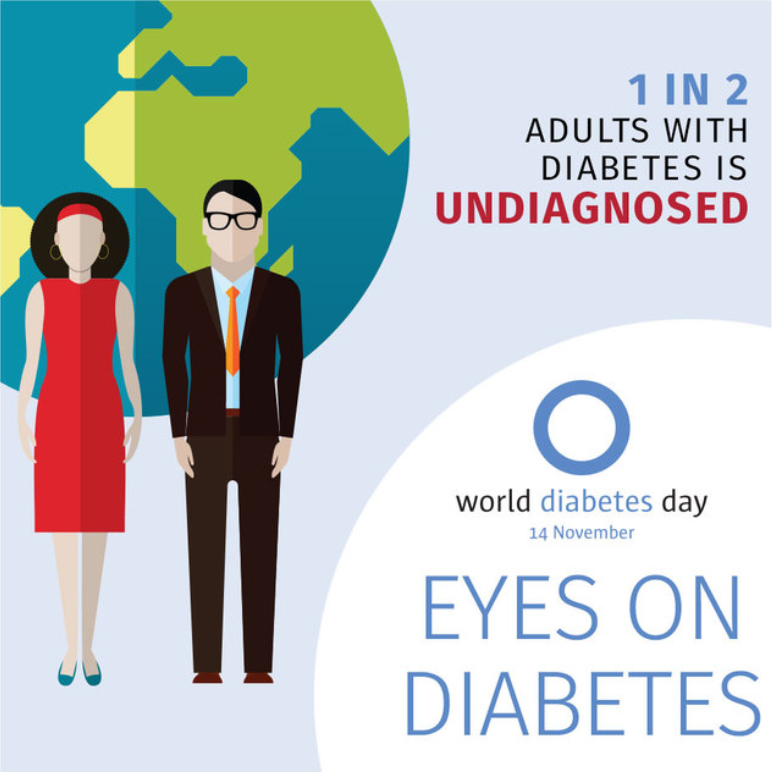 You're Not Alone - Celebrating World Diabetes Day and Diabetes Awareness Month thumbnail