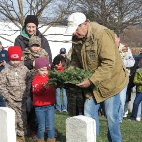 Honoring Military Personnel and Veterans on Wreaths Across America Day thumbnail