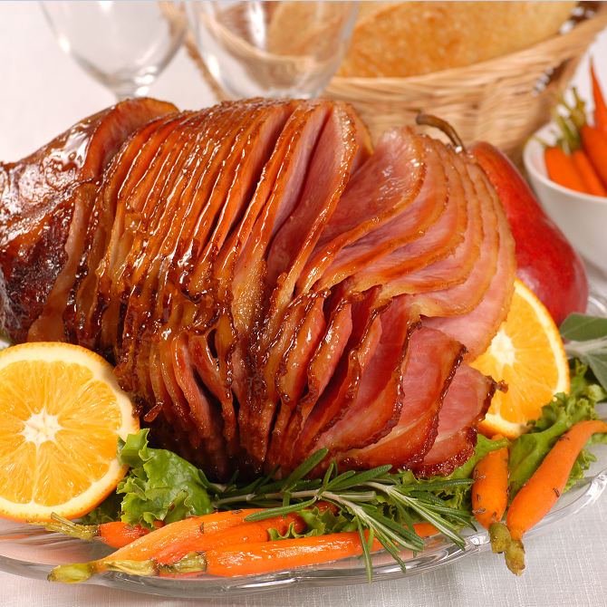 How to Cook a Ham in a Slow Cooker – Honey Glazed Ham Recipe for Crock Pot thumbnail