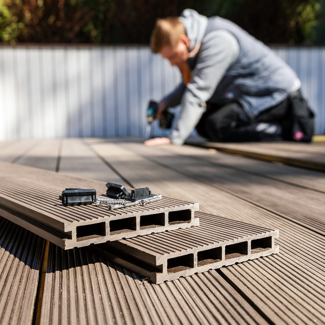 How to Install Composite Decking — Build Your Own Composite Deck DIY Project thumbnail