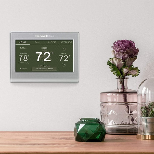 Honeywell Smart Thermostat Review - Is the Honeywell Home Wi-Fi Color Touchscreen Thermostat Right for You? thumbnail